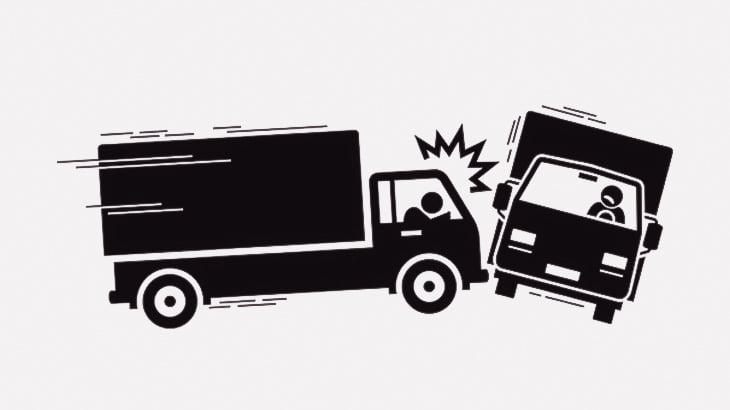 【閲覧注意】事故ったドライバー、とんでもない姿に・・・(動画)