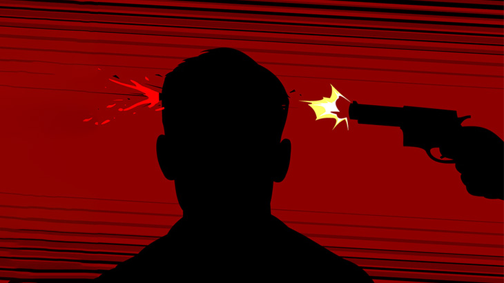 【閲覧注意】銃で襲われた男性の顔、ヤバい・・・(動画)