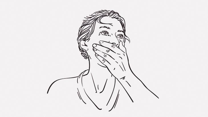 「口元隠すと女に見える男」に騙される人たち(動画)