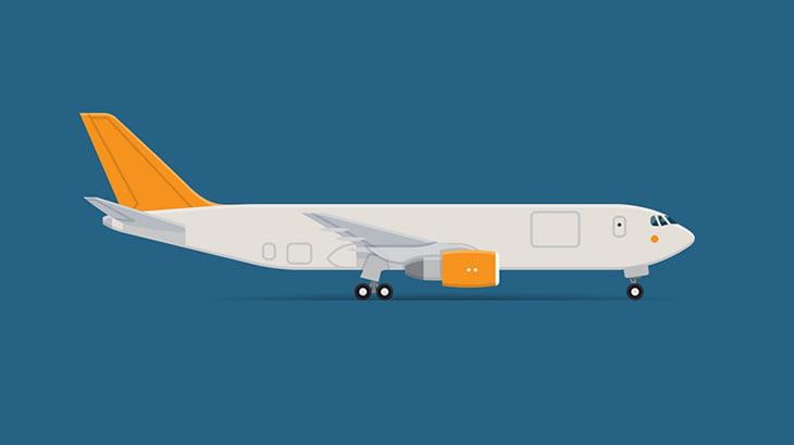 飛行機を輸送中のトラック、やらかしてしまう(動画)
