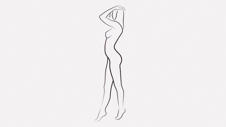 なぜか全裸で警察官に喚き散らす女(動画)