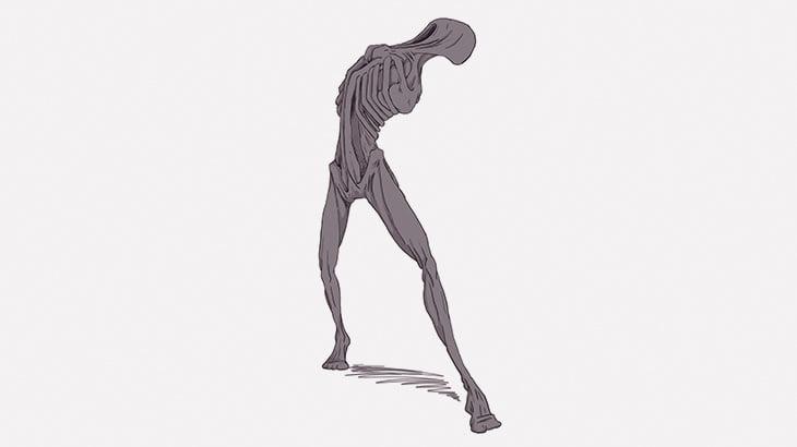 両腕が異様に短い男が迫りくるこの映像、怖すぎ・・・(動画)