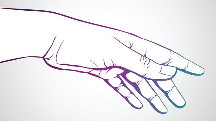 【閲覧注意】右手の親指が腐り爪が剥がれちゃった男(動画)