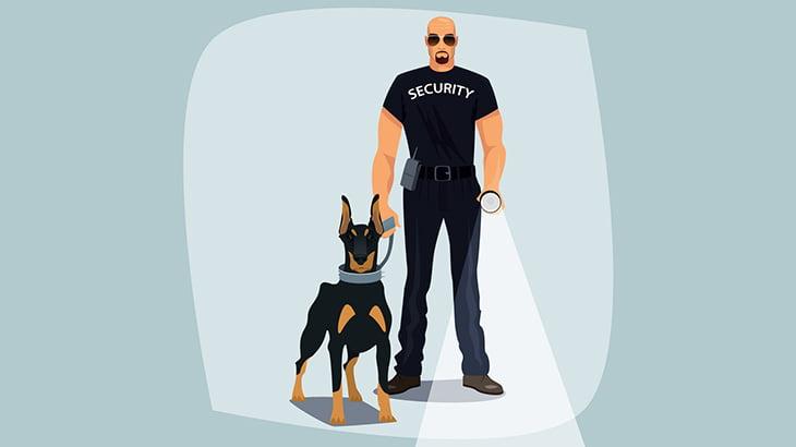 警察官が警察犬と絆Lvを上げれてないとこうなる(動画)