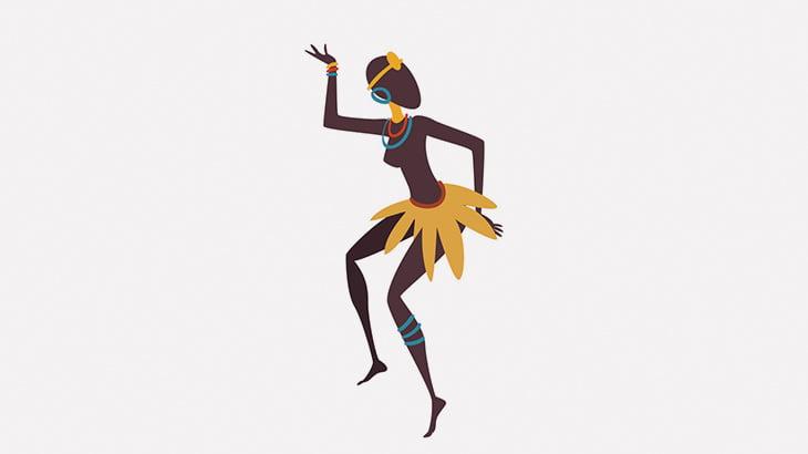 オッパイ丸出しの女性が手拍子に合わせて踊る謎の儀式(動画)