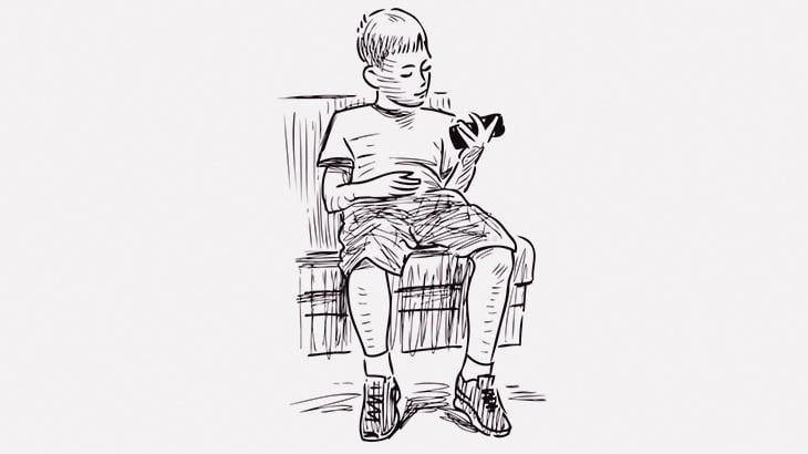 まだ幼い男の子、Youtubeの検索結果を見られて大泣きwwww(動画)