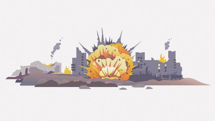 日常の中で爆撃で死ぬ可能性が高い国、シリア(動画)