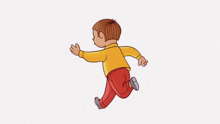 ゆっくり走っていた車、飛び出してきた子供を轢いてしまう・・・(動画)