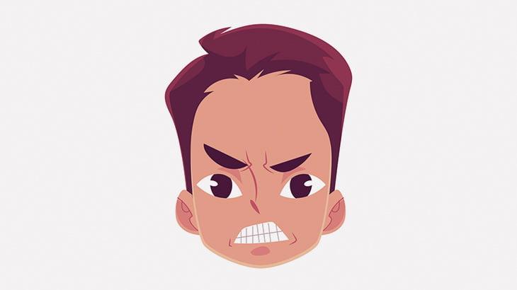 【閲覧注意】男性の首を切断した男、めっちゃ怒ってる・・・(動画)