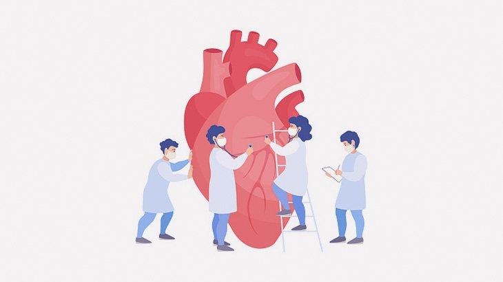 【閲覧注意】心臓にできた血栓を摘出する手術映像